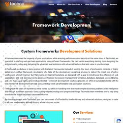 Framework Development - Techno Labs