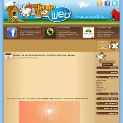 Lumen - Le micro-framework PHP développé par Laravel