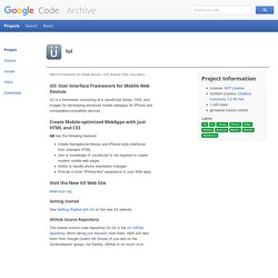 iui - Project Hosting on Google Code