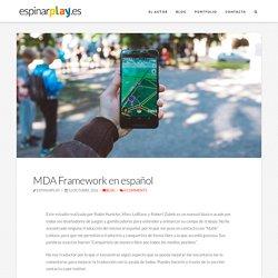 MDA Framework en español