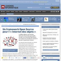 Un framework Open Source pour l'« Internet des objets »