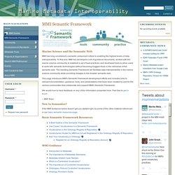 Marine Metadata Interoperability