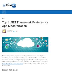 Top 4 .NET Framework Features for App Modernization