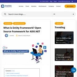 Entity framework in Depth