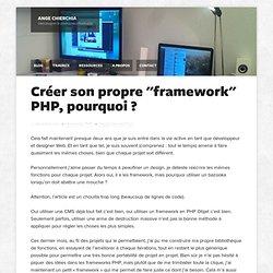 """Créer son propre """"framework"""" PHP, pourquoi ? — Ange Chierchia"""