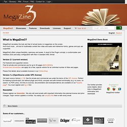 MegaZine3 - Open Source PageFlip