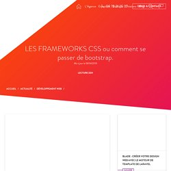 FRAMEWORKS CSS vs bootstrap - AntheDesign