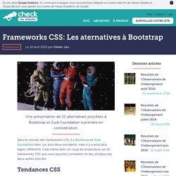 Frameworks CSS: Les aternatives à Bootstrap