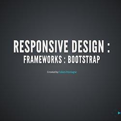 Frameworks CSS et Responsive