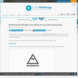 8 Frameworks CSS légers pour démarrer vos projets du bon pied