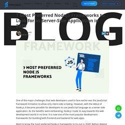 NodeJS Frameworks Developers India Chandigarh Mohali