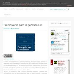 Frameworks para la gamificación