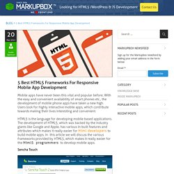 5 Best HTML5 Frameworks For Mobile App Development