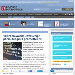 10 frameworks JavaScript parmi les plus prometteurs