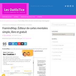 FramindMap. Éditeur de cartes mentales simple, libre et gratuit