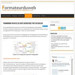 Framindmap un outil de carte heuristique tout en couleur