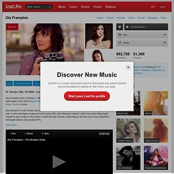 Dia Frampton – Free listening, videos, concerts, stats, & pictures at Last.fm