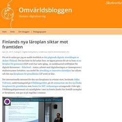 Finlands nya läroplan siktar mot framtiden