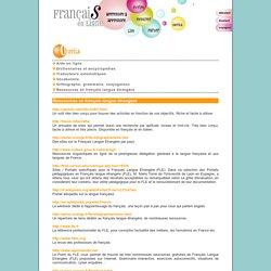 Fran?is en ligne - Ressources en FLE