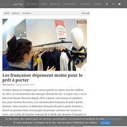 Les françaises dépensent moins pour le prêt à porter