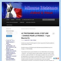 Héritage L'entrisme trotskiste en France