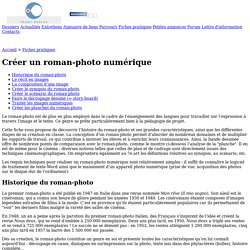 Franc-parler - Fiche : Créer un roman-photo numérique