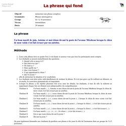 França!s actif : la phrase qui fond