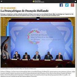 La Françafrique de François Hollande