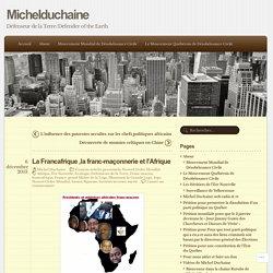 La Francafrique ,la franc-maçonnerie et l'Afrique