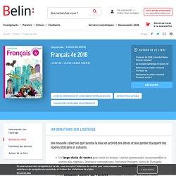 Français 4e 2016