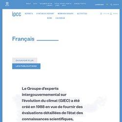 GIEC site officiel