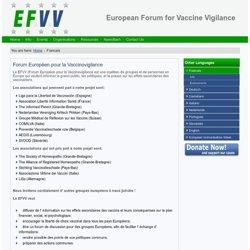 Forum Européen pour la Vaccinovigilance