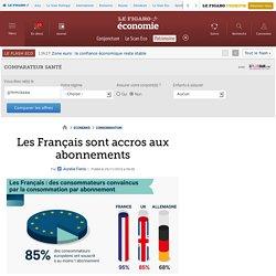 Les Français sont accros aux abonnements