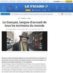 Le français, langue d'accueil de tous les écrivains du monde