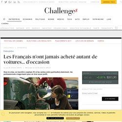 Les Français achètent 3 fois moins de voitures neuves que d'occasion - Challenges.fr