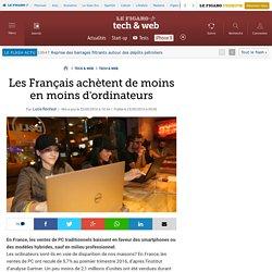 Les Français achètent de moins en moins d'ordinateurs
