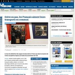 Grève ou pas, les Français aiment leurs transports en commun