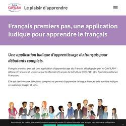 Français premiers pas, une application ludique pour apprendre le français