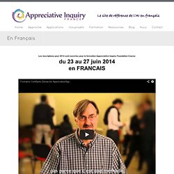 En Français - Appreciative Inquiry France