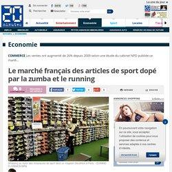 Le marché français des articles de sport dopé par la zumba et le running