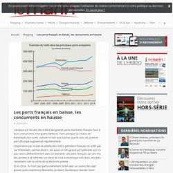 Les ports français en baisse, les concurrents en hausse