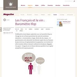 Les Français et le vin : Baromètre Ifop