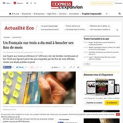 Un Français sur trois a du mal à boucler ses fins de mois