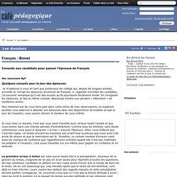 Français : Brevet