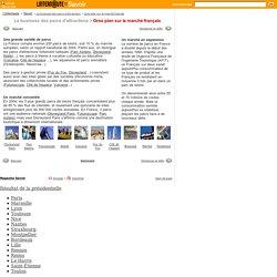 Gros plan sur le marché français - Le business des parcs d'attraction