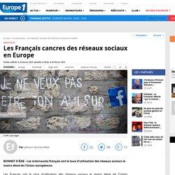 Les Français cancres des réseaux sociaux en Europe