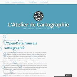 L'Open-Data français cartographié