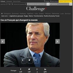 Ces 20 Français qui changent le monde - Challenges.fr