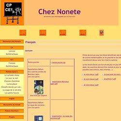 Français - Chez Nonete