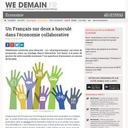 Un Français sur deux a basculé dans l'économie collaborative